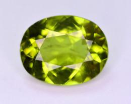 Top Color 3.65 Ct Natural Himalayan Peridot. AP1