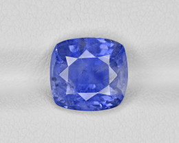 Blue Sapphire, 4.57ct - Mined in Burma | Certified by IGI