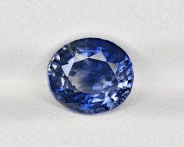 Blue Sapphire, 2.60ct - Mined in Sri Lanka | Certified by IGI