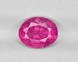Ruby, 2.15ct - Mined in Burma | Certified by IGI