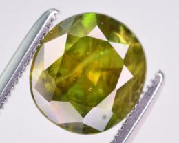 Top Dispersion 2.05 Ct Natural Titanite Sphene