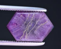 Rarest 5.50 ct Trapiche Pink Kashmir Sapphire