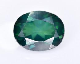 3.14 Crt Green Topaz Faceted Gemstone (R17)