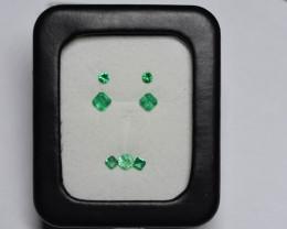 1.38 Carat Panjshir Emerald Suite