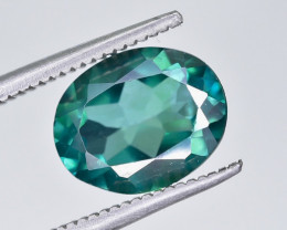 2.78 Crt Natural Green Topaz Faceted Gemstone.( AG 72)