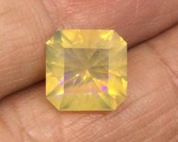 2.98 Carat Crystal Opal Lightning Ridge Master Cut Stunning Color Flash !