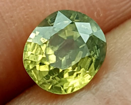 1.65Crt Natural Yellow Zircon  Natural Gemstones JI09