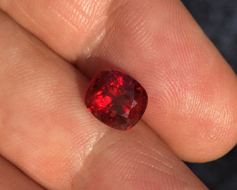 2.75 ct Red no treatment spinel Burma.