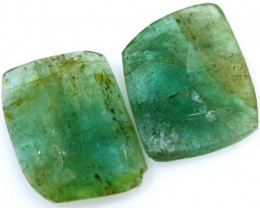 3.08 CTS -EMERALD  FACETED  PAIR ADG-118
