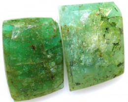 6.17 CTS -EMERALD  FACETED  PAIR ADG-112