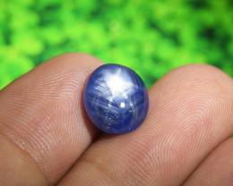 BIG Certified Blue Star Sapphire 6.38ct (01077)