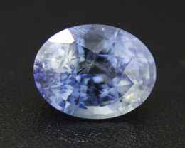 2.27ct Light Blue Sapphire , well-cut , perfect for a ring (01618)