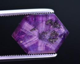Rarest 7.75 Ct Corundum Sapphire Trapiche From Kashmir Valley