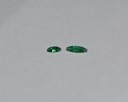 0.33 Carat Vivid Green Panjshir Emerald