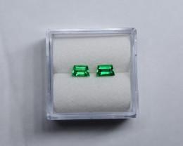 0.46 Carat Panjshir Emerald Trapezoid