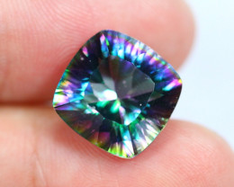 6.88cts Natural Rainbow Colour Mystic Topaz / VG408