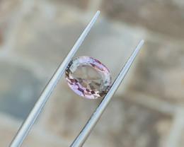 2.10 Ct Natural Pink Transparent Tourmaline Gemstone