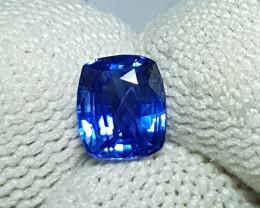 UNHEATED 1.06 CTS CERTIFIED STUNNING CORNFLOWER BLUE SAPPHIRE CEYLON