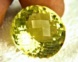 CERTIFIED - 47.48 Carat African Lemon Quartz - Gorgeous