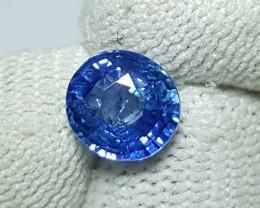 UNHEATED 2.02 CTS CERTIFIED CORNFLOWER BLUE SAPPHIRE SRI LANKA