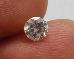 Stunning IGL Certified $3300 Natural 0.61ct. Round White Diamond