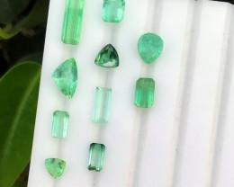 12.20 carats Blue color Tourmaline Gemstones parcel