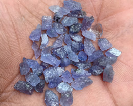 TANZANITE ROUGH GEMSTONE PARCEL NATURAL GEM VA749