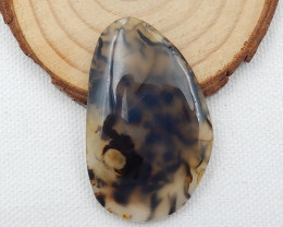 52Cts agate Gemstone Natural Agate Cabochon Oval Moss Agate D280