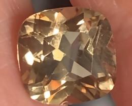 5.03ct Shining Caramel Gold Topaz Gem VVS No reserve ~