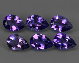9.20 CTS AWESOME NATURAL PEAR PURPLE~VIOLET AMETHIYST GEM!!