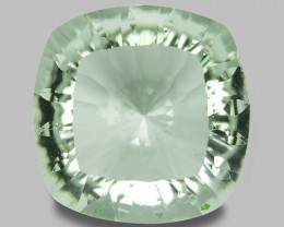 6.38 CT PRASOILITE TOP CLASS CUT GEMSTONE PR24