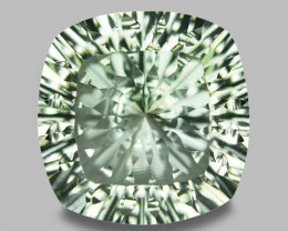 7.32 CT PRASOILITE TOP CLASS CUT GEMSTONE PR25