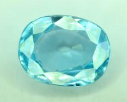 2.25 Gorgeous Color Natural Blue Zircon