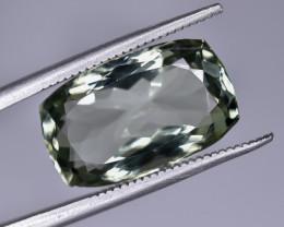 7.81 Crt Natural Prasiolite Green Amethyst Faceted Gemstone.( AG 73)
