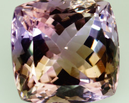 30.04 ct. Natural Top Nice Purple Ametrine Unheated Brazil - IGE Сertified