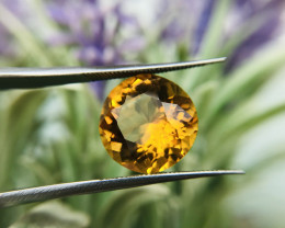 Golden  Citrine, Top Color - 8.67ct - Africa