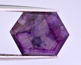 Rarest 7 Ct Corundum Sapphire Trapiche From Kashmir Valley ATT2