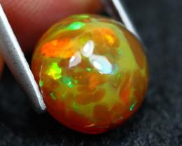 Opal 2.31Ct Natural Broadflash Honeycomb Ethiopian Welo Opal B0310