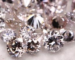1.02Ct Light Pink Natural Diamond Auction Lot BM2