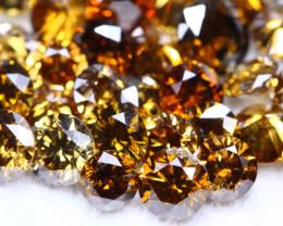 5.01Ct Fancy Orange Natural Diamond Auction Lot BM4
