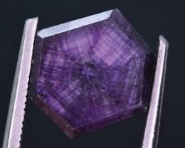 Rarest 5 ct Trapiche Pink Kashmir Sapphire ~ t