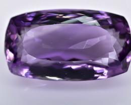 13.89 Crt Amethyst Faceted Gemstone (R19)