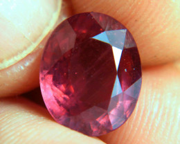 6.15 Carat Fiery Ruby - Gorgeous