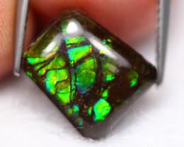 Ammolite 3.89Ct Natural Canadian Ammolite S40