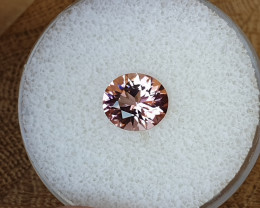 2,14ct Pink Tourmaline - Master cut & Glowing!