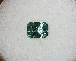 1,65ct Mint Tourmaline - Master cut & glowing!