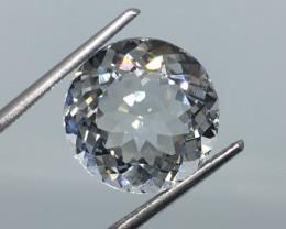 7.22 Carat VVS Topaz -Diamond White Color Flash Quality Amazing!