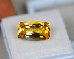 6.48Ct Yellow Citrine Octagon Cut Lot B783