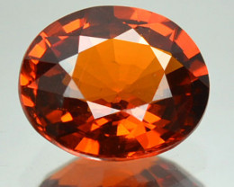 1.75 Cts Natural Mandarin Orange Spessartite Garnet Oval Cut Namibia Gem
