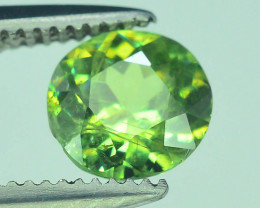 Top Grade 0.65 ct Demantoid Garnet~S